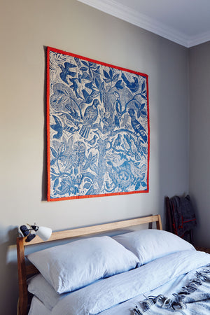 Bird Tree Quilt by Mark Hearld