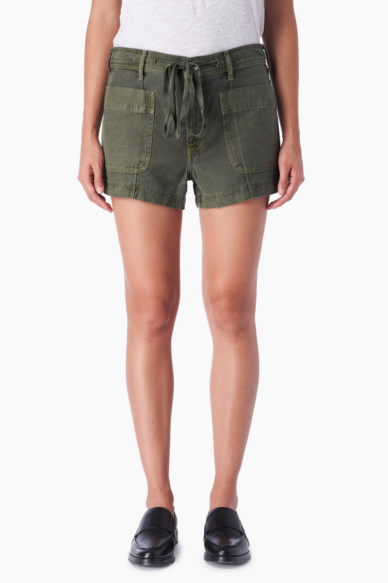 Trave Coco Relaxed Short Garden Green @ Hero Shop  SF