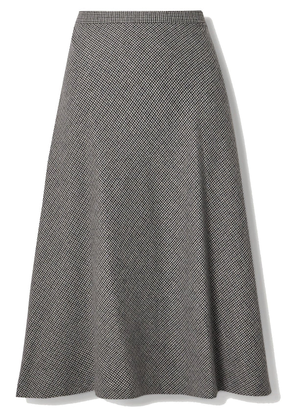 Nili Lotan Alvina Skirt - Grey Plaid @ Hero Shop