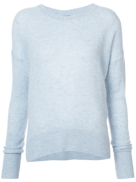 Brushed Cashmere Crewneck