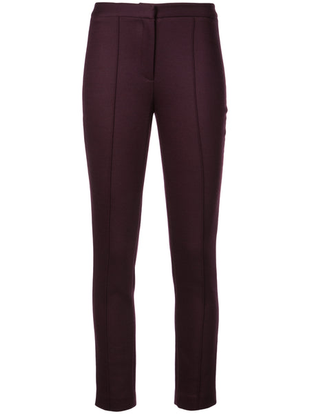 Adam Lippes Double Face Wool Pant w Pintuck