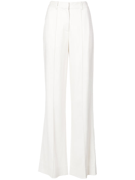 Adam Lippes Stretch Canvas Wide Leg Pant