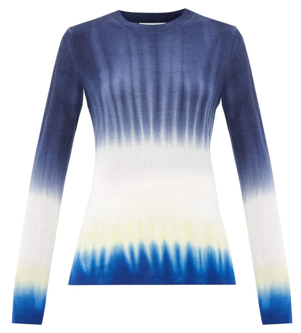 Gabriela Hearst Miller Sweater in Cobalt @ Hero Shop SF