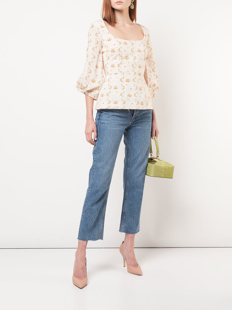 Brock Collection Orecchino Floral Top