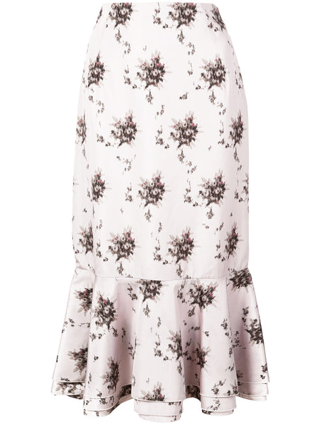 Brock Collection Orchidea Floral Skirt