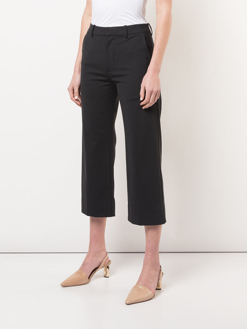 Co. Cropped Straight Trouser