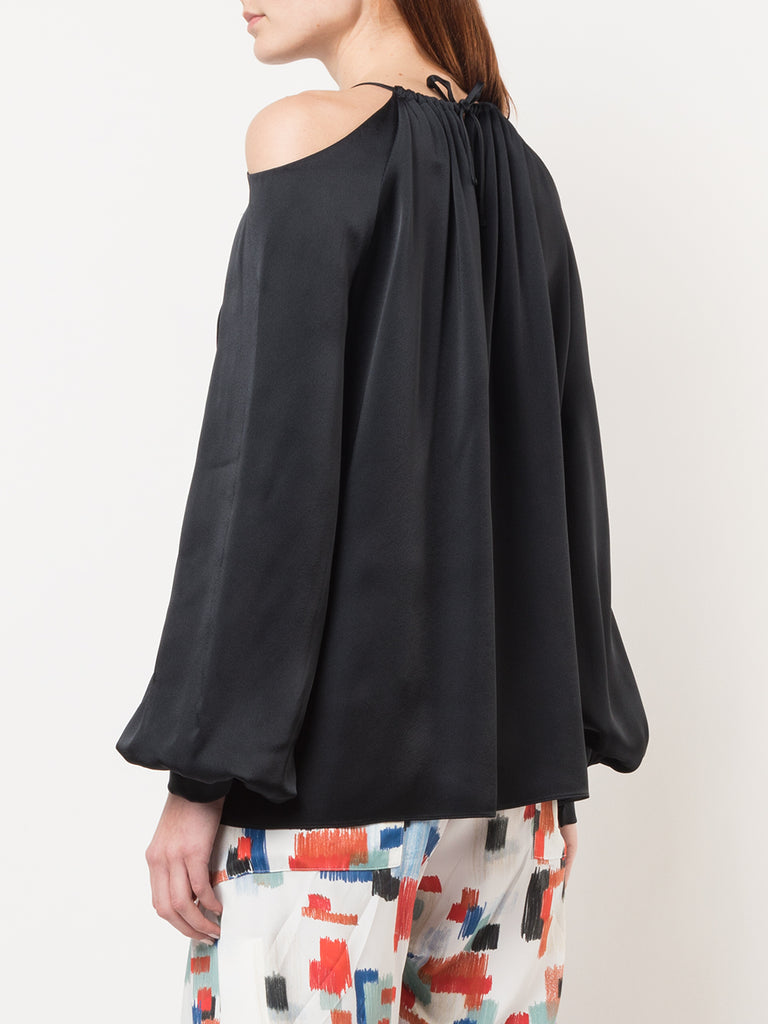 Rosetta Getty Cut Out Shoulder Top