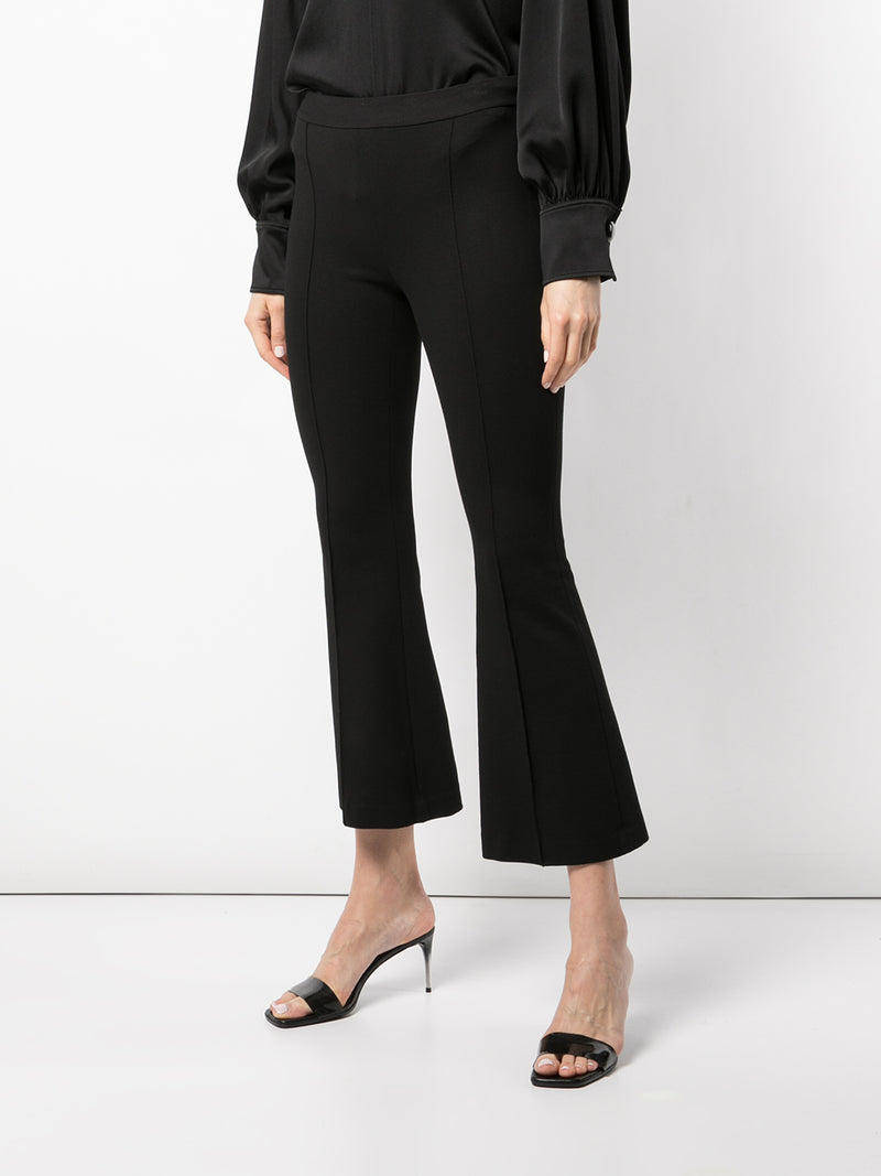 Rosetta Getty Pull On Cropped Flare Pant