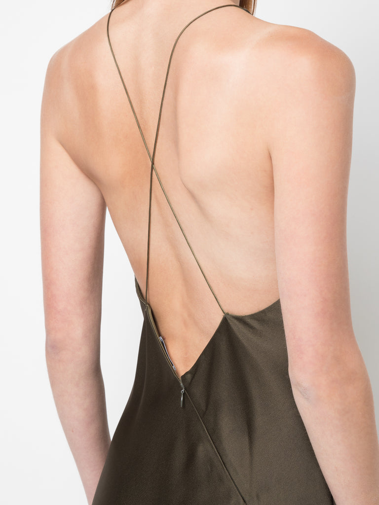 Rosetta Getty Cross Back Bias Slip