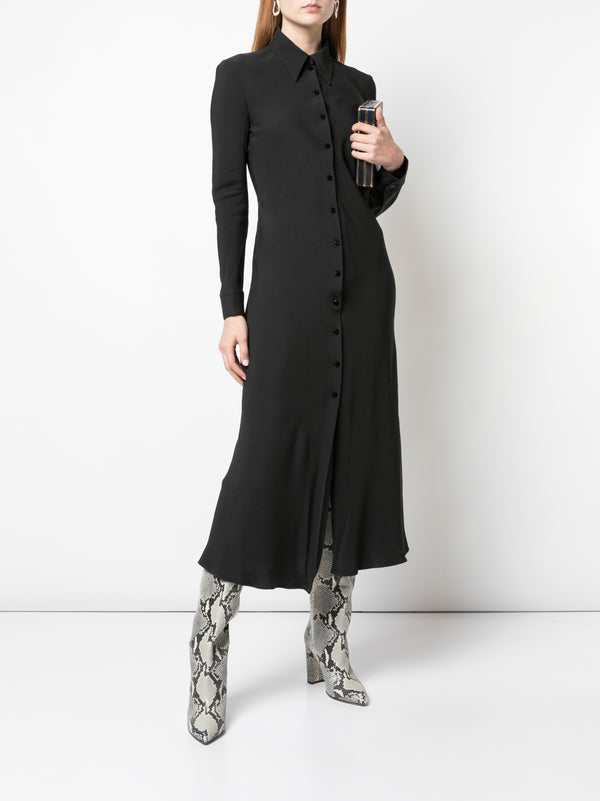 Rosetta Getty Bias Shirt Dress