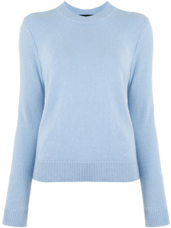 Proenza Schouler Eco Cashmere Knit Top Chambray Blue @ Hero Shop