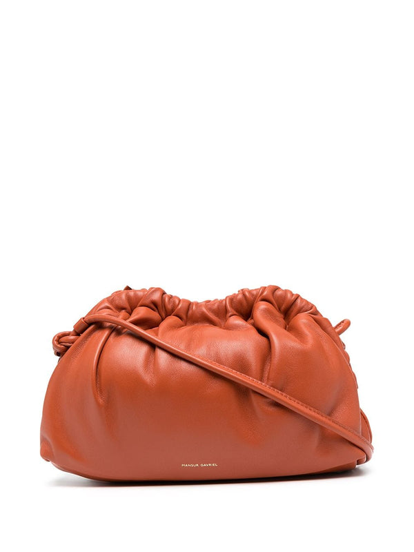 Mansur Gavriel Mini Cloud Clutch - Terracotta @ Hero Shoo