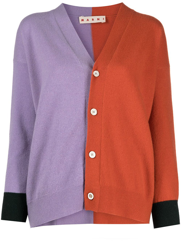 Marni Bi-Color Cardigan - Dahlia@ Hero Shop