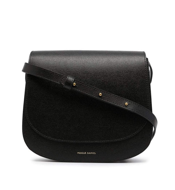 Mansur Gavriel Classic Shoulder Bag - Black @ Hero Shop