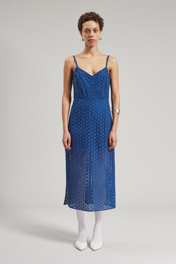 Rachel Comey Agitator Dress - Blue @ Hero Shop