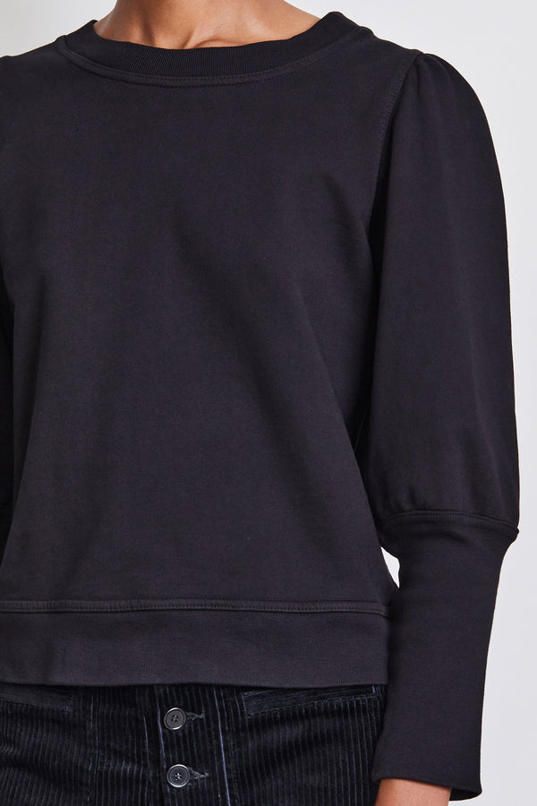 Apiece Apart Olimpio Sweatshirt - Black @ Hero Shop