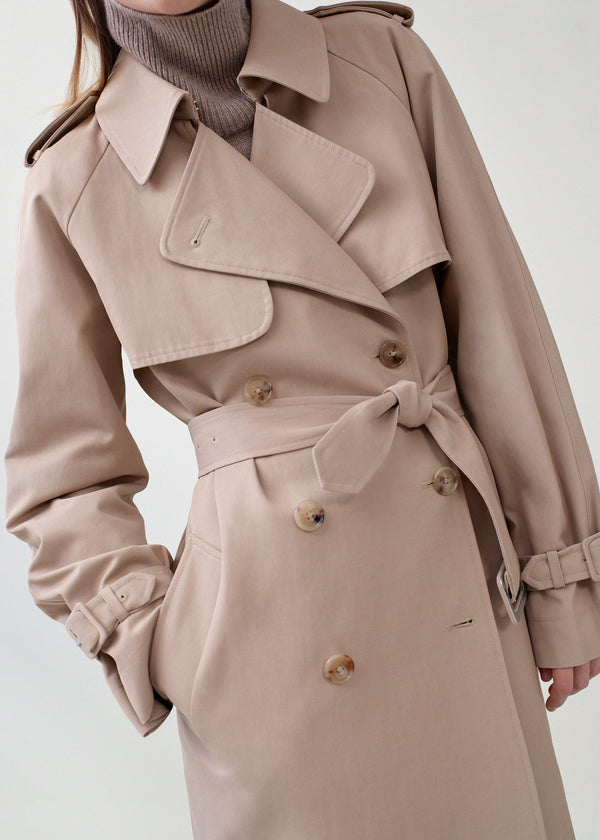 Co. Cotton Twill Trench Coat @ Hero Shop SF