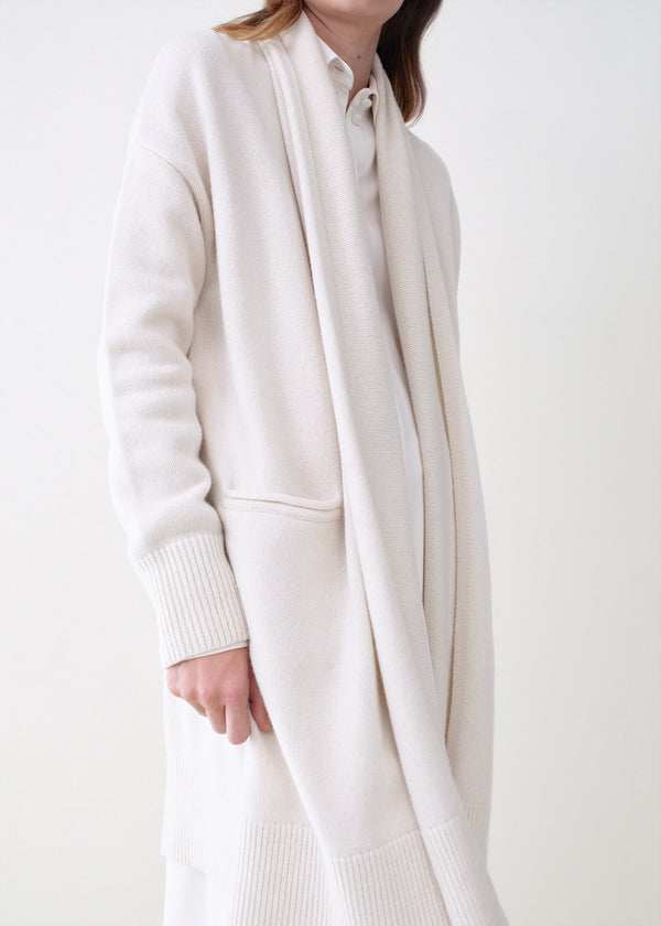 Co. Shawl Collar Cardigan - Ivory
