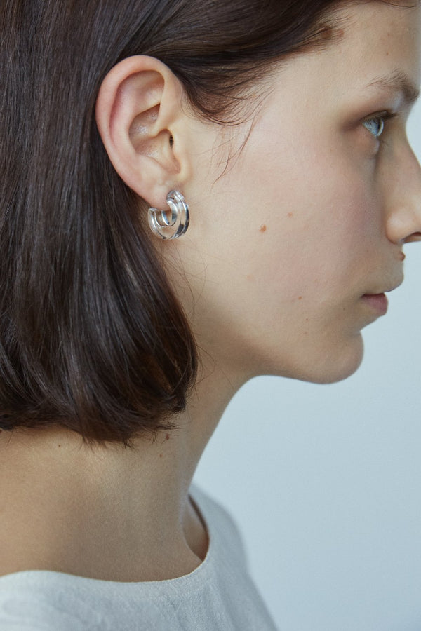 Rachel Comey Cuba Earrings - Clear @ Hero Shop