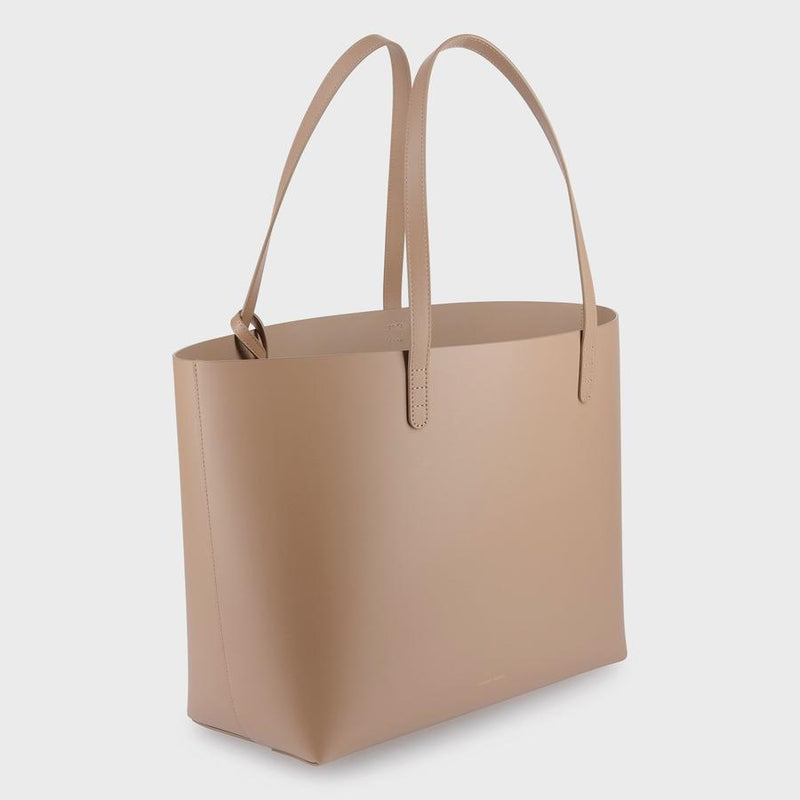 Mansur Gavriel Large Tote - Biscotto @ Hero Shop