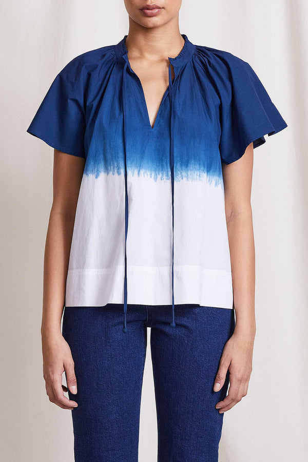Apiece Apart Vera Petal Sleeve Top - Ombre @ Hero Shop