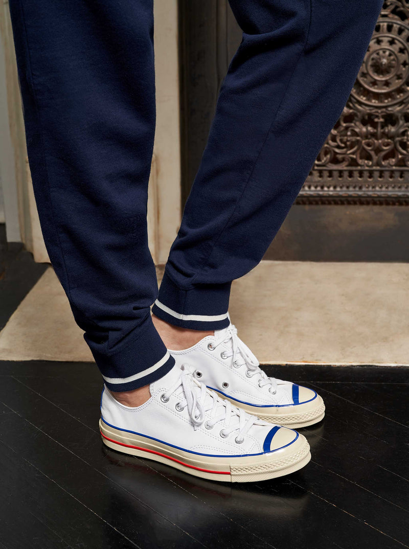 La Ligne Howard Jogger - Navy @ Hero Shop SF