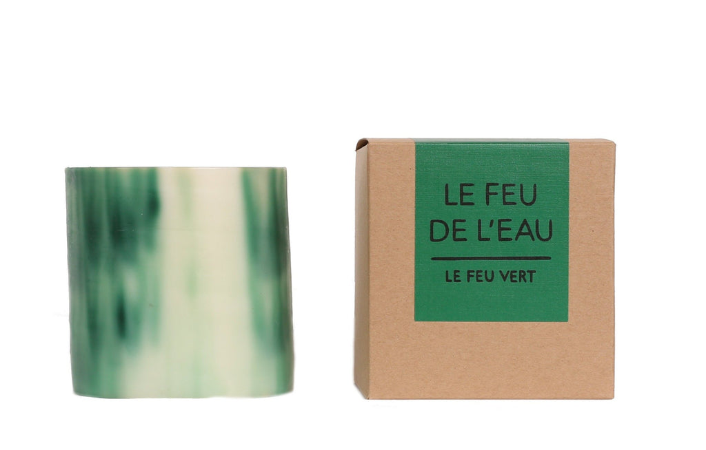 Le Feu de L'Eau Green Fig Leaf Artisanal Candle