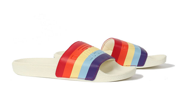 Vans Rainbow Slide On