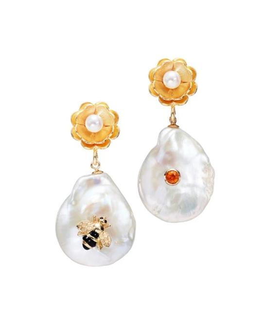 Of Rare Origin Bee My Honey Earrings @ Hero Shop SF