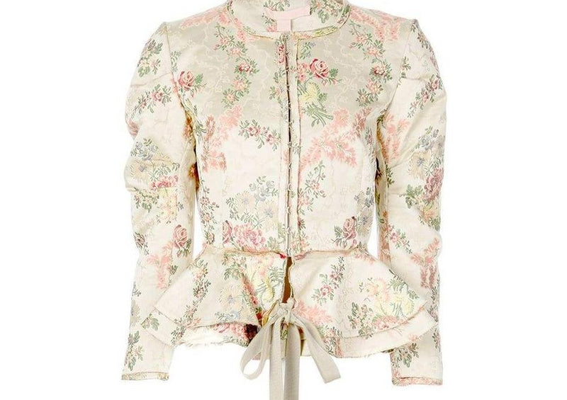 Brock Collection Panicucci Jacket in Light Beige