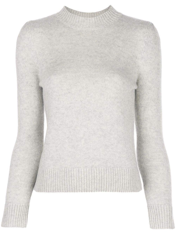 Co. Cropped Sweater in Chalk