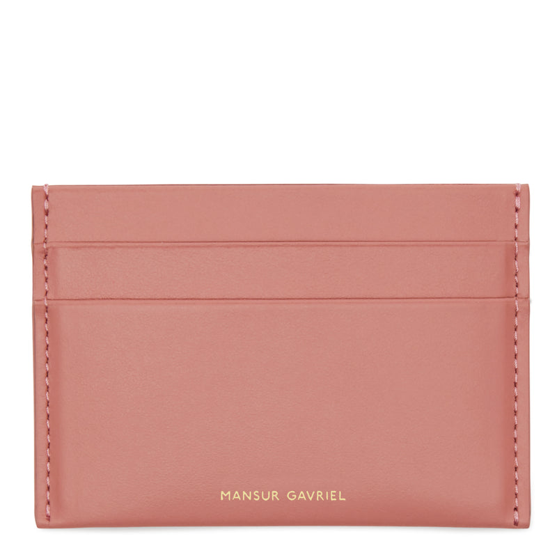 Mansur Gavriel Credit Card Holder - Blush