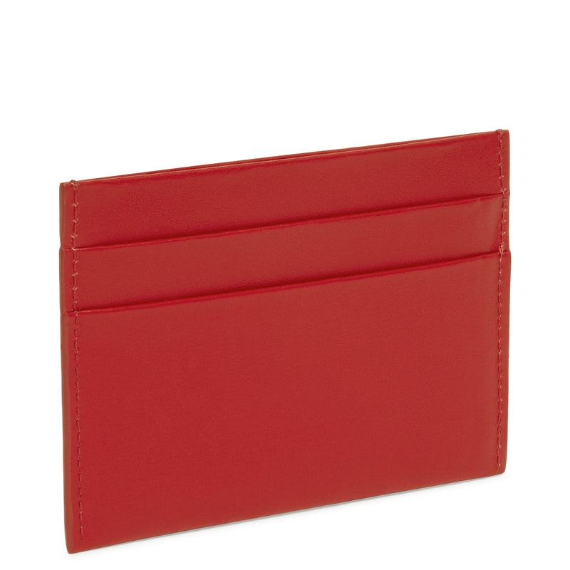 Mansur Gavriel Credit Card Holder - Red