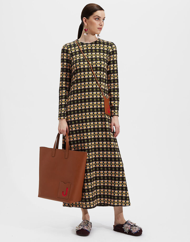 La DoubleJ Long Sleeve Swing Dress - Bacetto @ Hero Shop