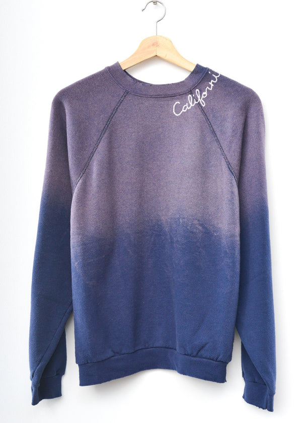California Sweatshirt - Washed Navy