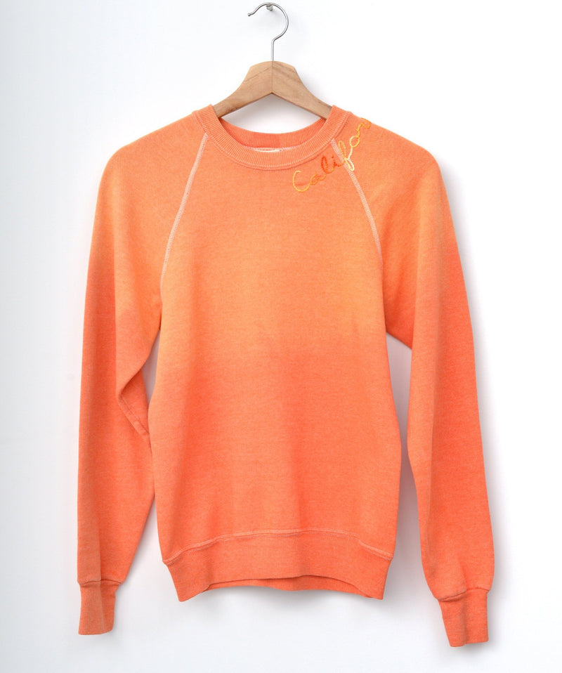 California Sweatshirt - Orange