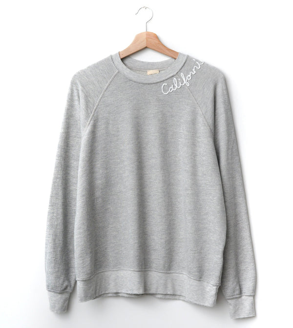 California Sweatshirt - Heather Grey
