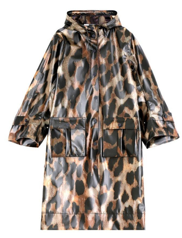 Ganni Thermoshell Leopard Jacket @ Hero Shop SF