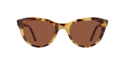 Garret Leight X Clare V. Vivier 47 Sunflower