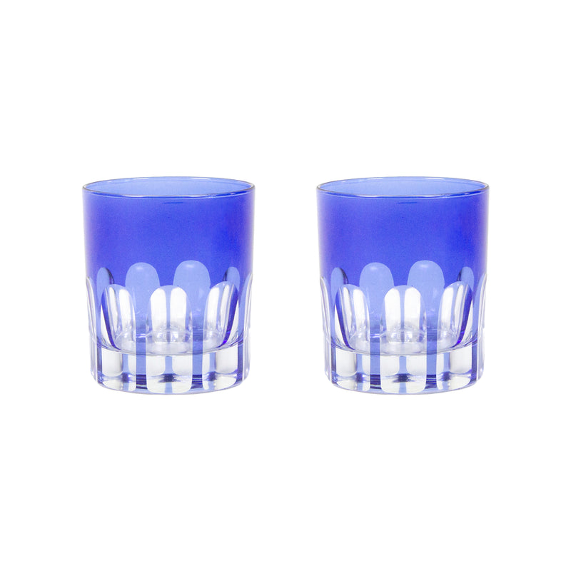 Rialto Old Fashioned Glasses - Moon Glow