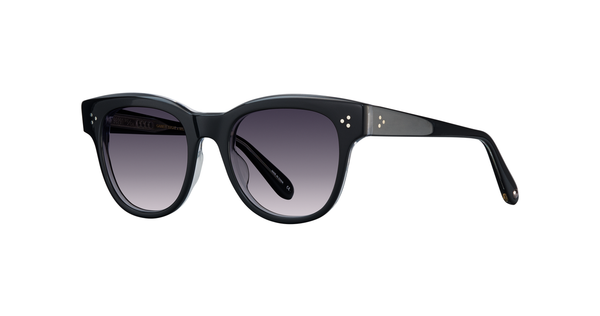 Garrett Leight X UJ Phaedra 51 Black / Purple Gradient