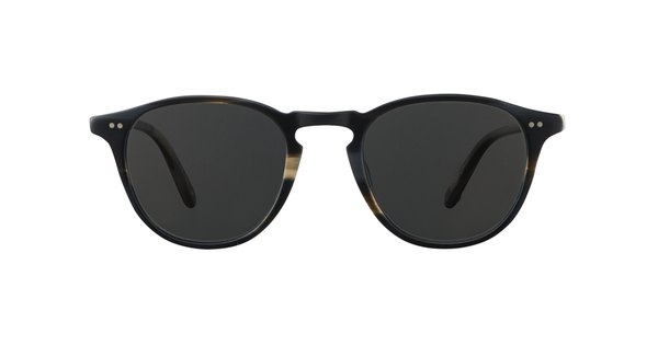 Garrett Leight Hampton 46 Basalt / Semi-Flat Grey @ Hero Shop SF