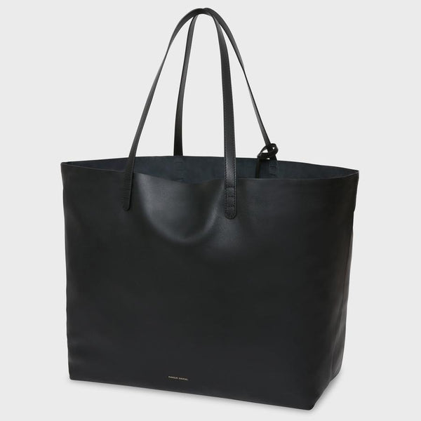 Mansur Gavriel Oversized Tote - Black @ Hero Shop
