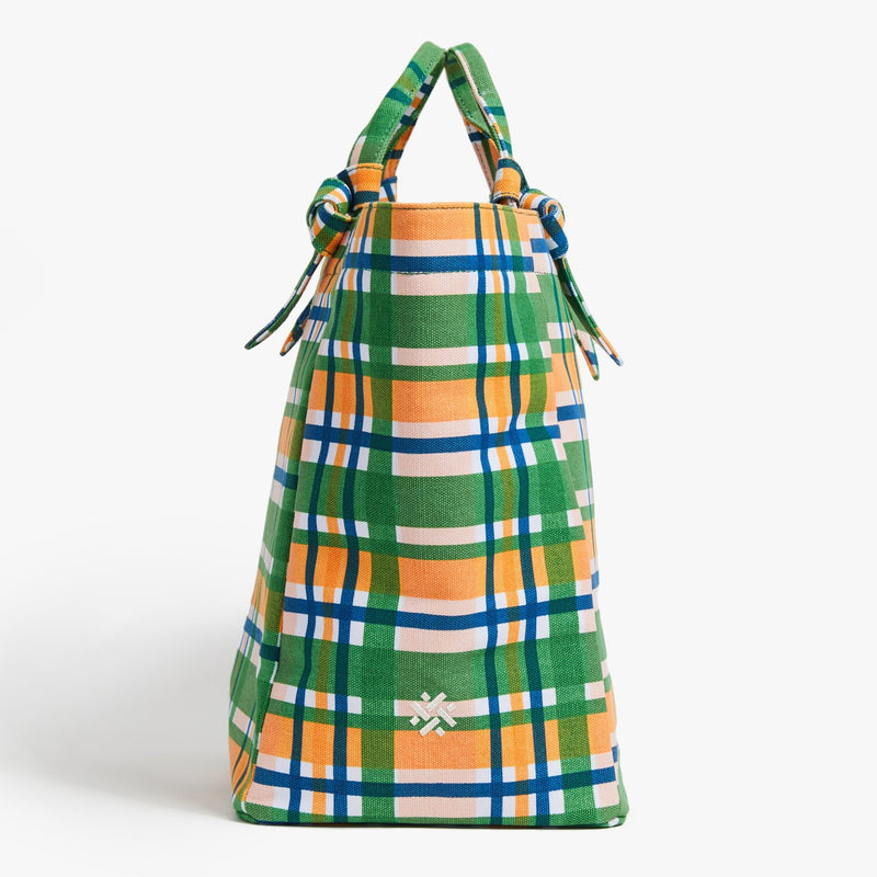 Pamela Munson Mad About Plaid Tote @ Hero Shop SF