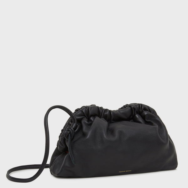Mansur Gavriel Mini Cloud Clutch - Black @ Hero Shop