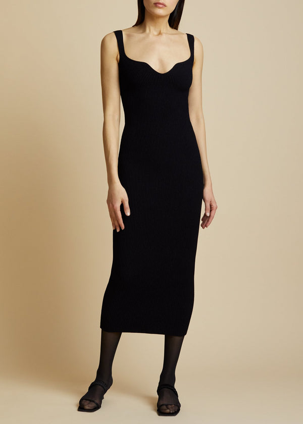Khaite Nina Dress - Black @ Hero Shop