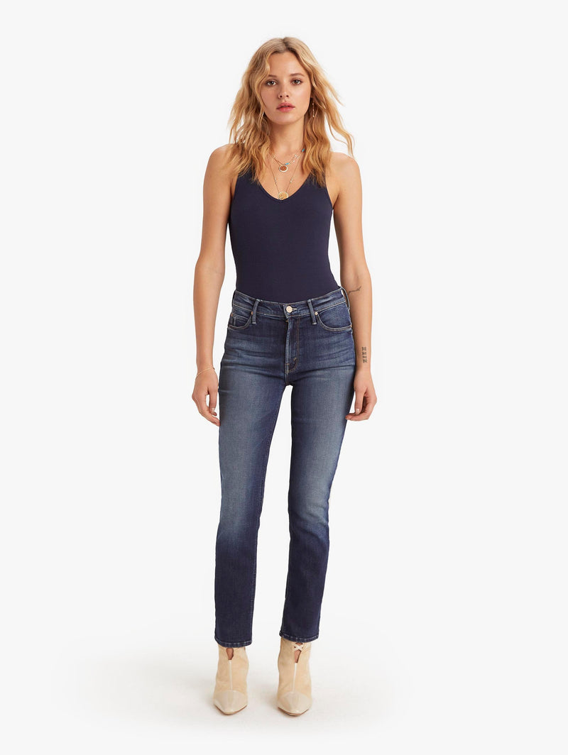 Mother Denim Mid-Rise Dazzler Ankle - On the Edge @ Hero Shop SF