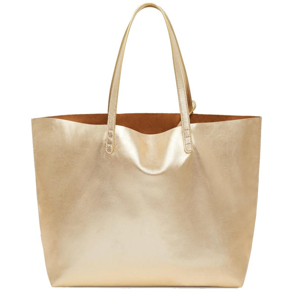 Mansur Gavriel Oversized Tote - Gold @ Hero Shop