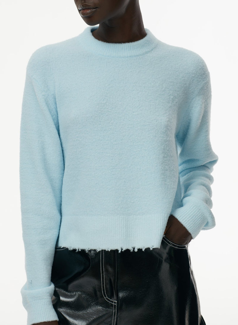 Tibi Heat Pressed Crewneck Sweater @ Hero Shop SF