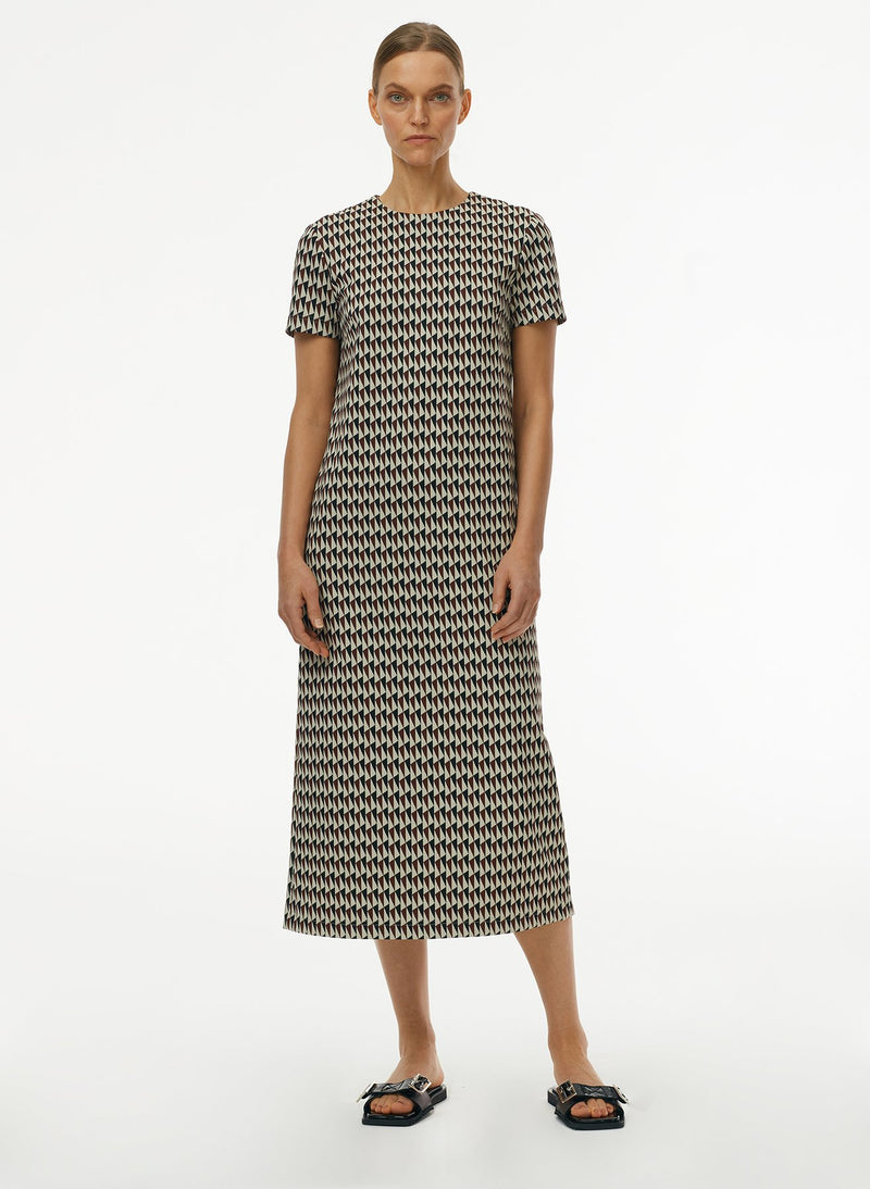 Silas Jacquard Shirt Dress